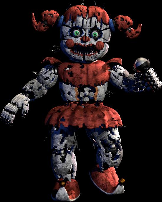 Resultado De Imagen De Nightmare Baby Circus Baby Nightmare Toy Bonnie Nightmare