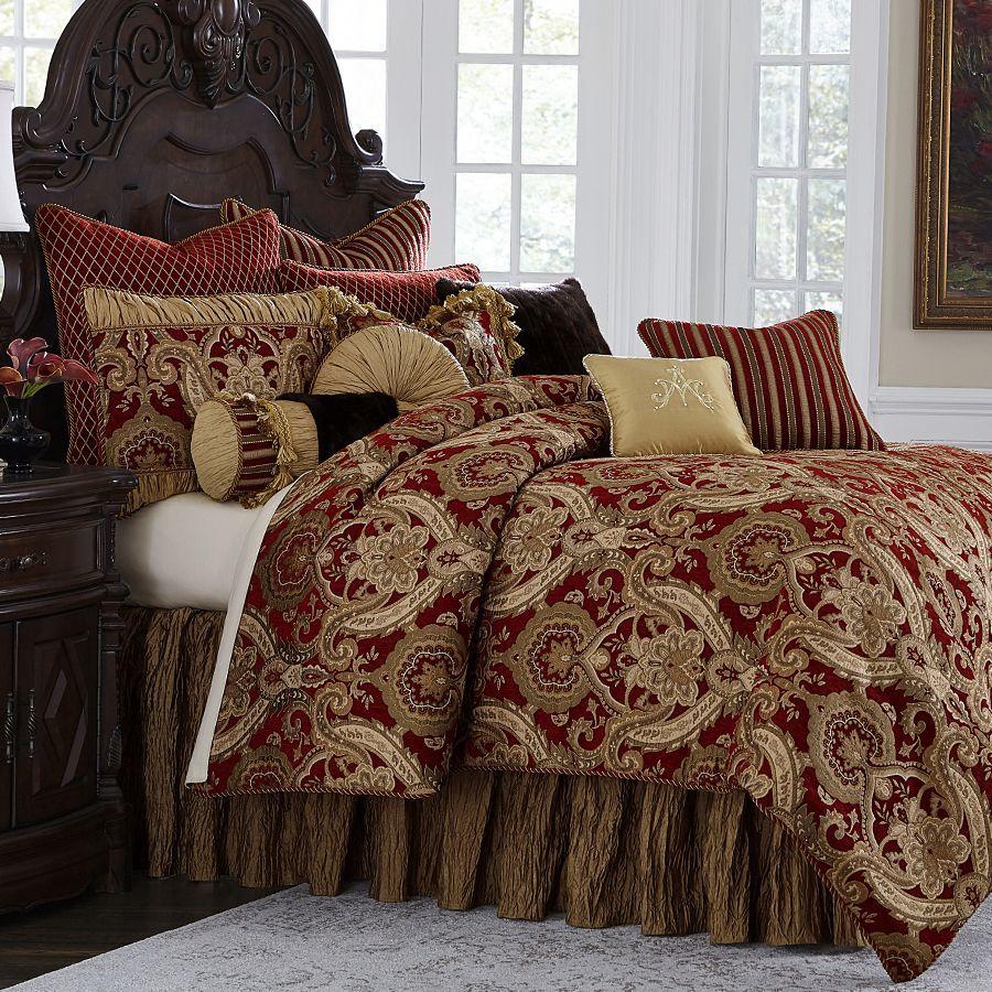 Excellent Michael Amini Bedding For Luxury Master Bedroom Decor