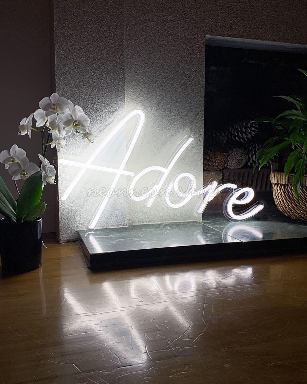 Adore Neon Sign homedecor interiordesign home decor