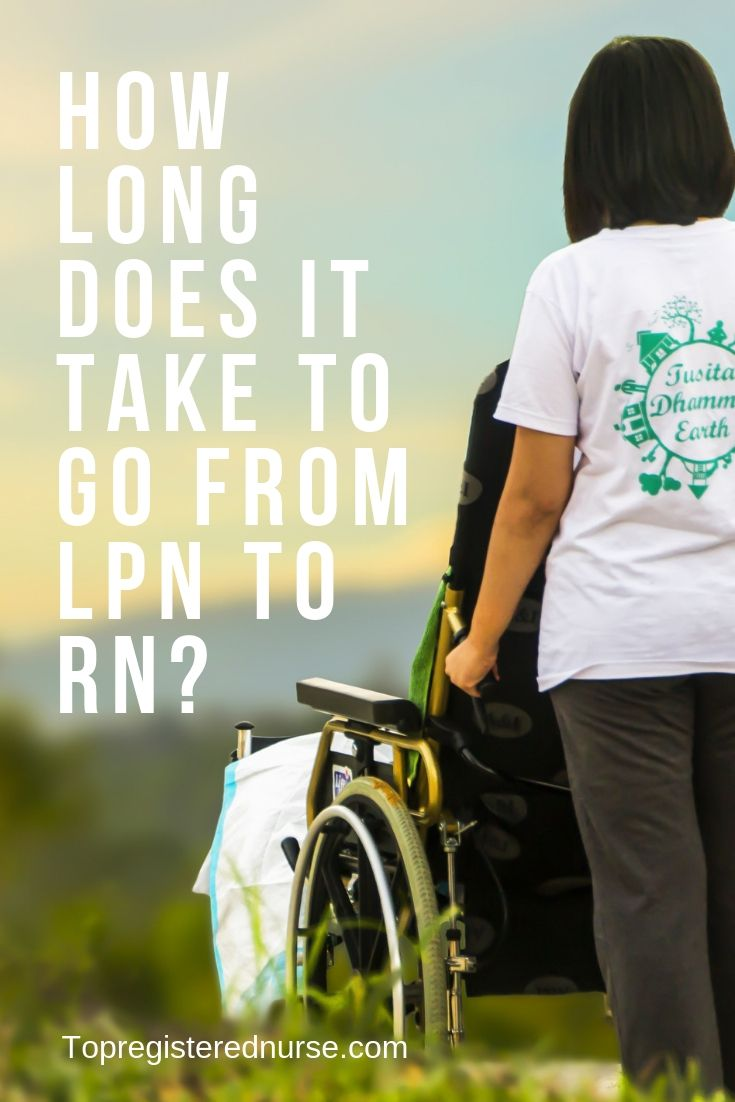 How long does it take to do from lpn to rn lpn schools