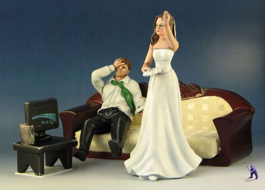 Video Gamer Couple