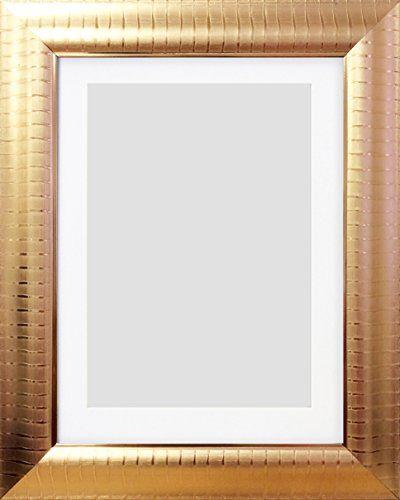 10x8 8x6 Metallic Copper Lexington Stipe Photo Frame With Mount Photo Frames And Art 2 U Http Www Amazon Co Uk Dp B00v67 Frame Photo Frame Metallic Copper