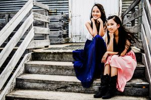 Amy & Ellen Shi – Commercial Photo Shoot for Music DVD ‹ Kerry Sleeman Photography & Makeup