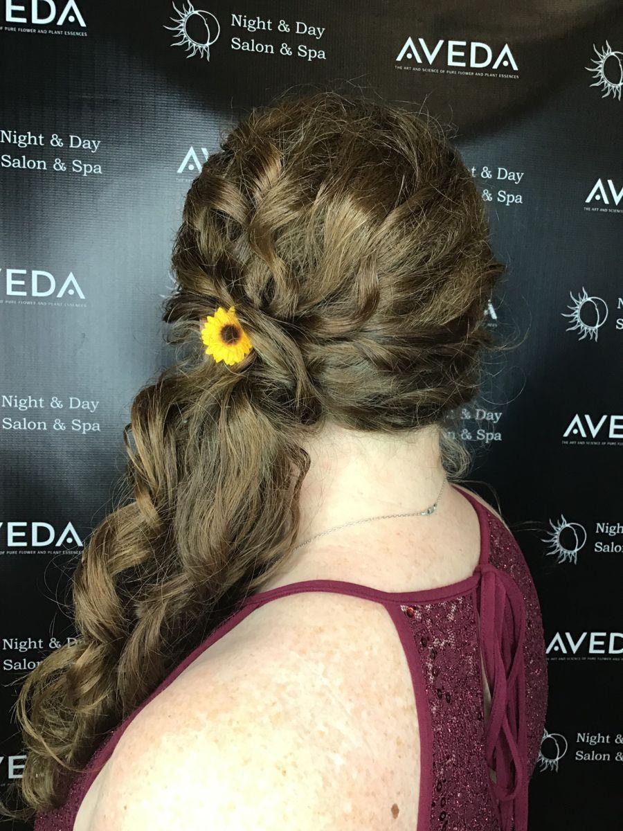 Aveda formal styling #avedasalon Aveda salon, Aveda wedding, Aveda hair care, Aveda artist, sunflower, Aveda updo, side updo #avedasalon Aveda formal styling #avedasalon Aveda salon, Aveda wedding, Aveda hair care, Aveda artist, sunflower, Aveda updo, side updo