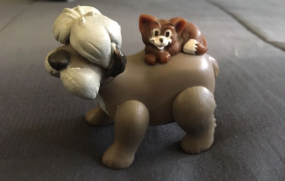 Disney 101 Dalmatians Colonel Tibbs Dog Cat Toy Figure Figurine