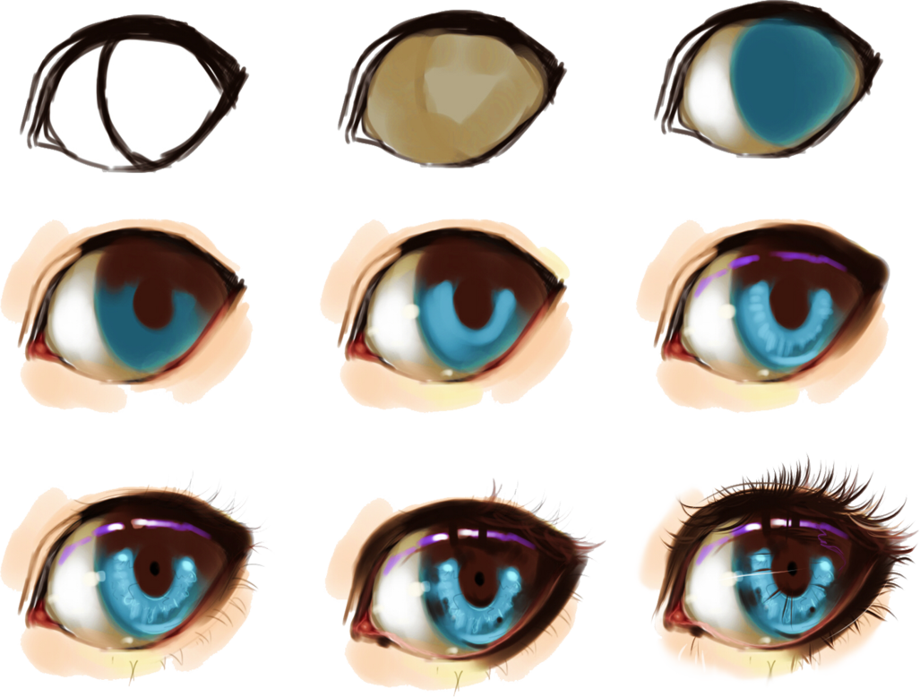 Some Help For Drawing Eyes