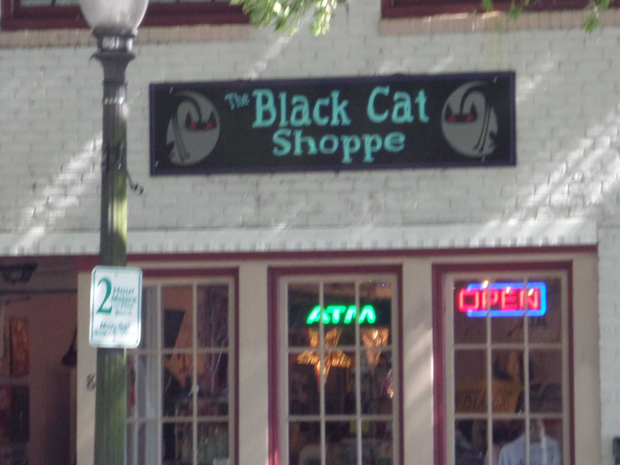The Black Cat Shoppe.....offering The Official Wilmington