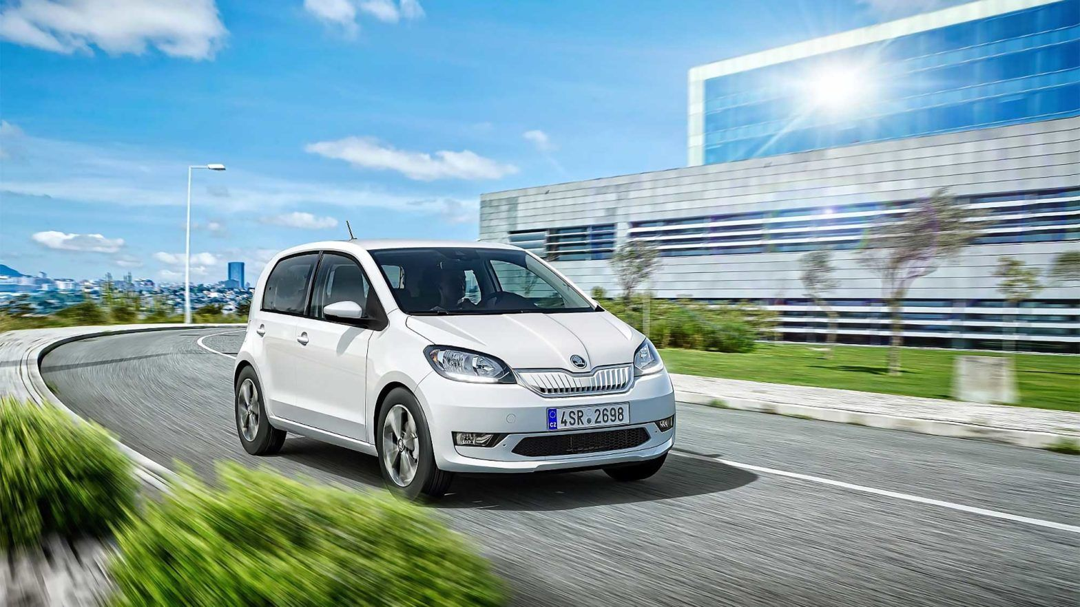 Skoda Citigoe Iv Is Skoda S First All Electric Vehicle Has A