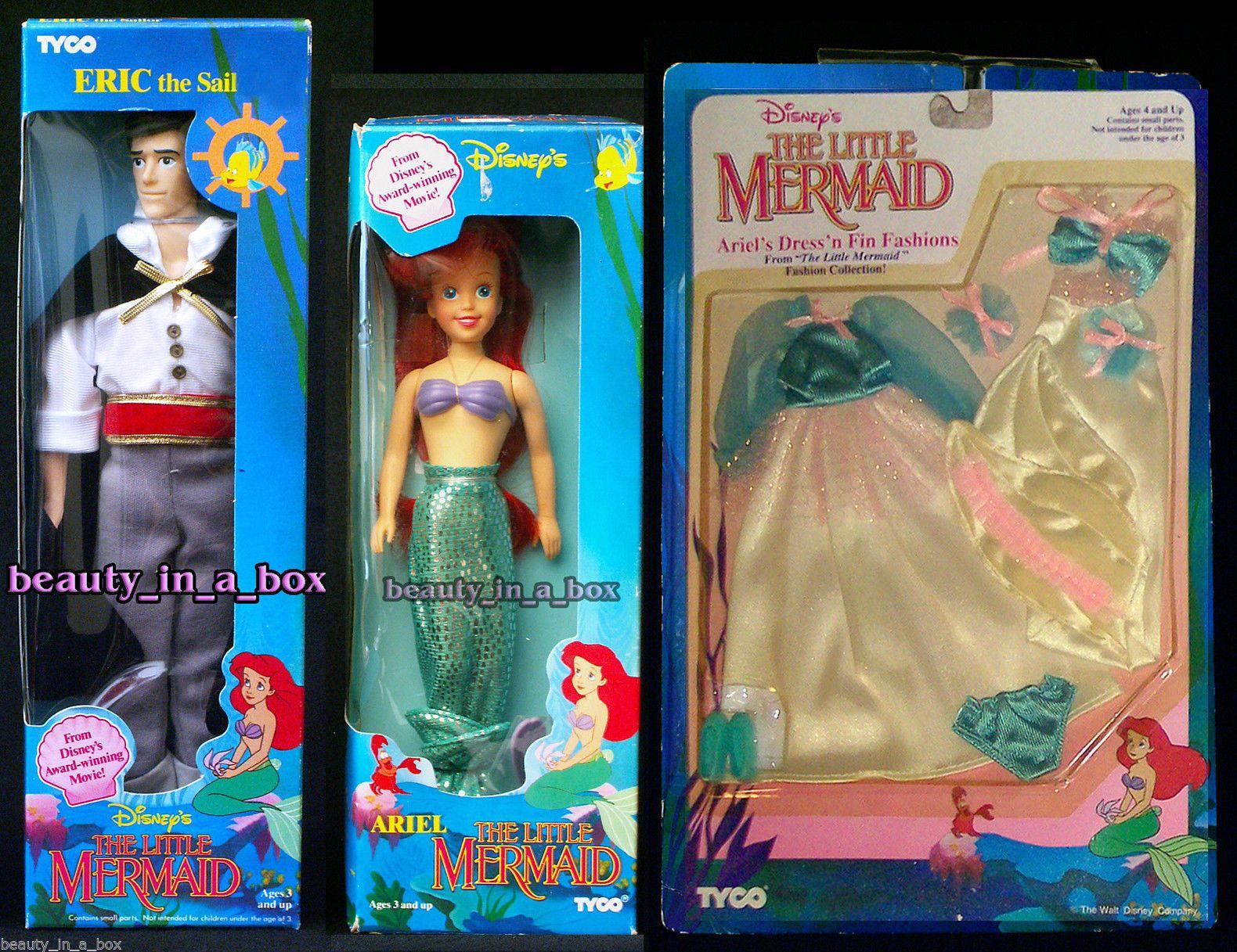 Disney Little Mermaid Dress N Fin Fashion