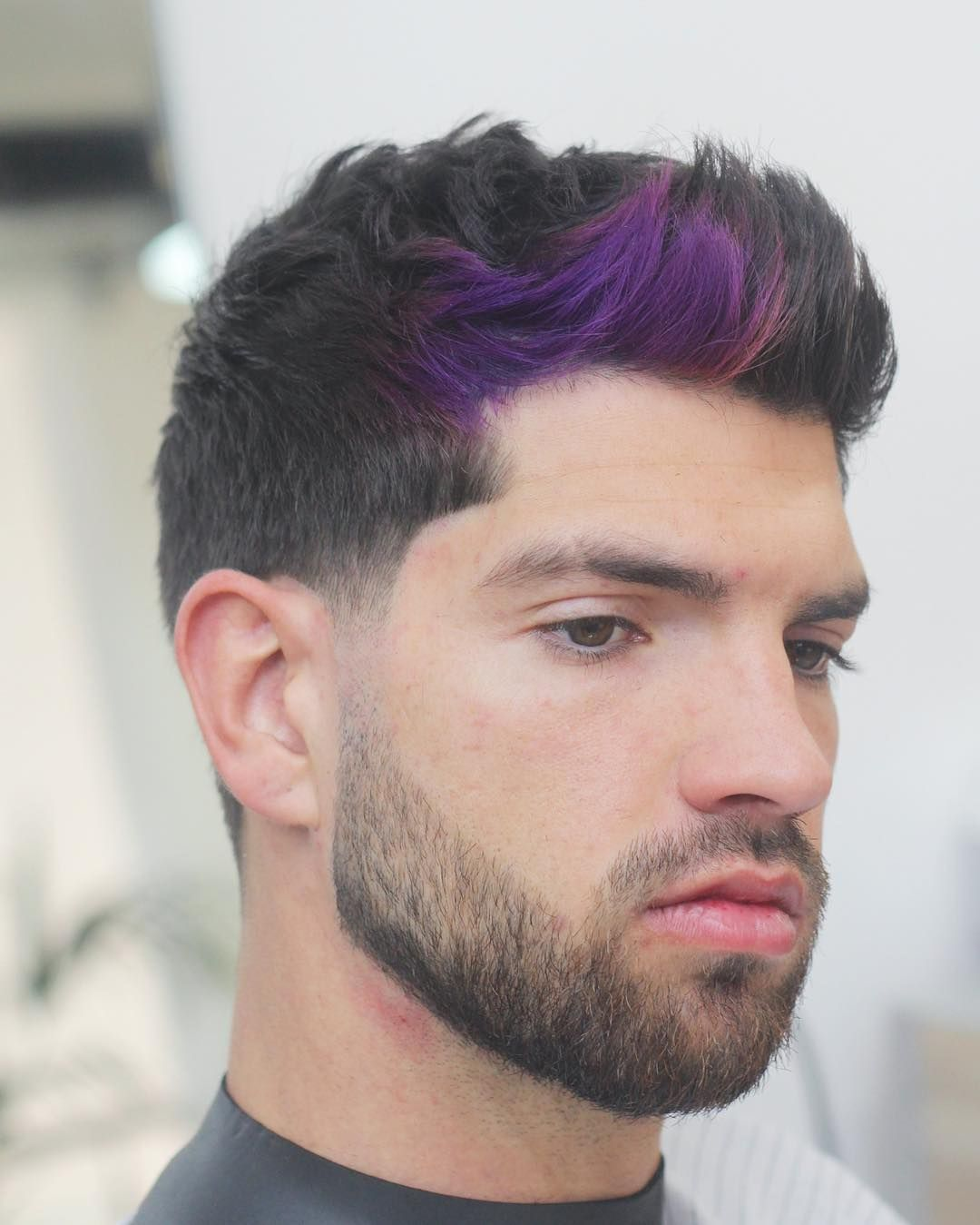 Best mens haircuts for round faces awesome  topnotch comb over taper haircuts  the immortal trend