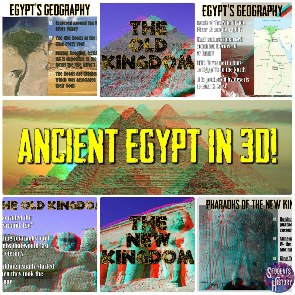 Ancient Egypt In 3d Lesson Wow