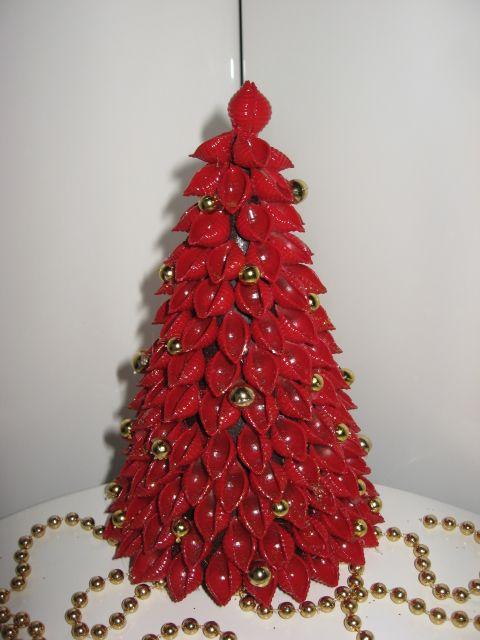 Choinka Z Makaronu Pior Choinki Z Makaronu Ozdoby 6618585841 Oficjalne Archiwum Allegro Christmas Tree Crafts Paper Christmas Decorations Diy Christmas Paper