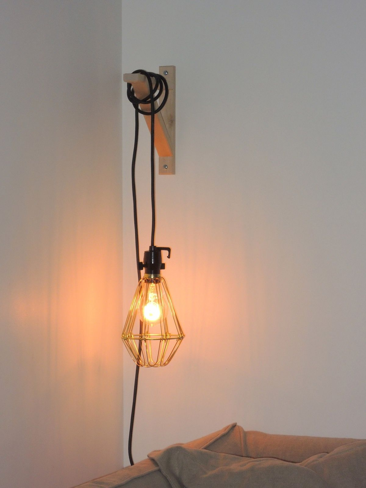 Ma Lampe Baladeuse Bricole Bedroom Lighting Et House Design