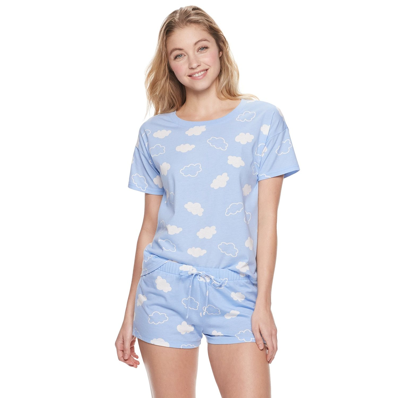 Juniors Pajama Short for Dresses