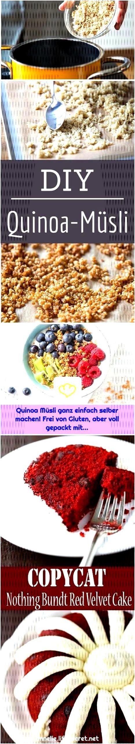 Quinoa Müsli ganz einfach selber machen! Frei von Gluten, aber voll gepackt mit...    1. Ein B