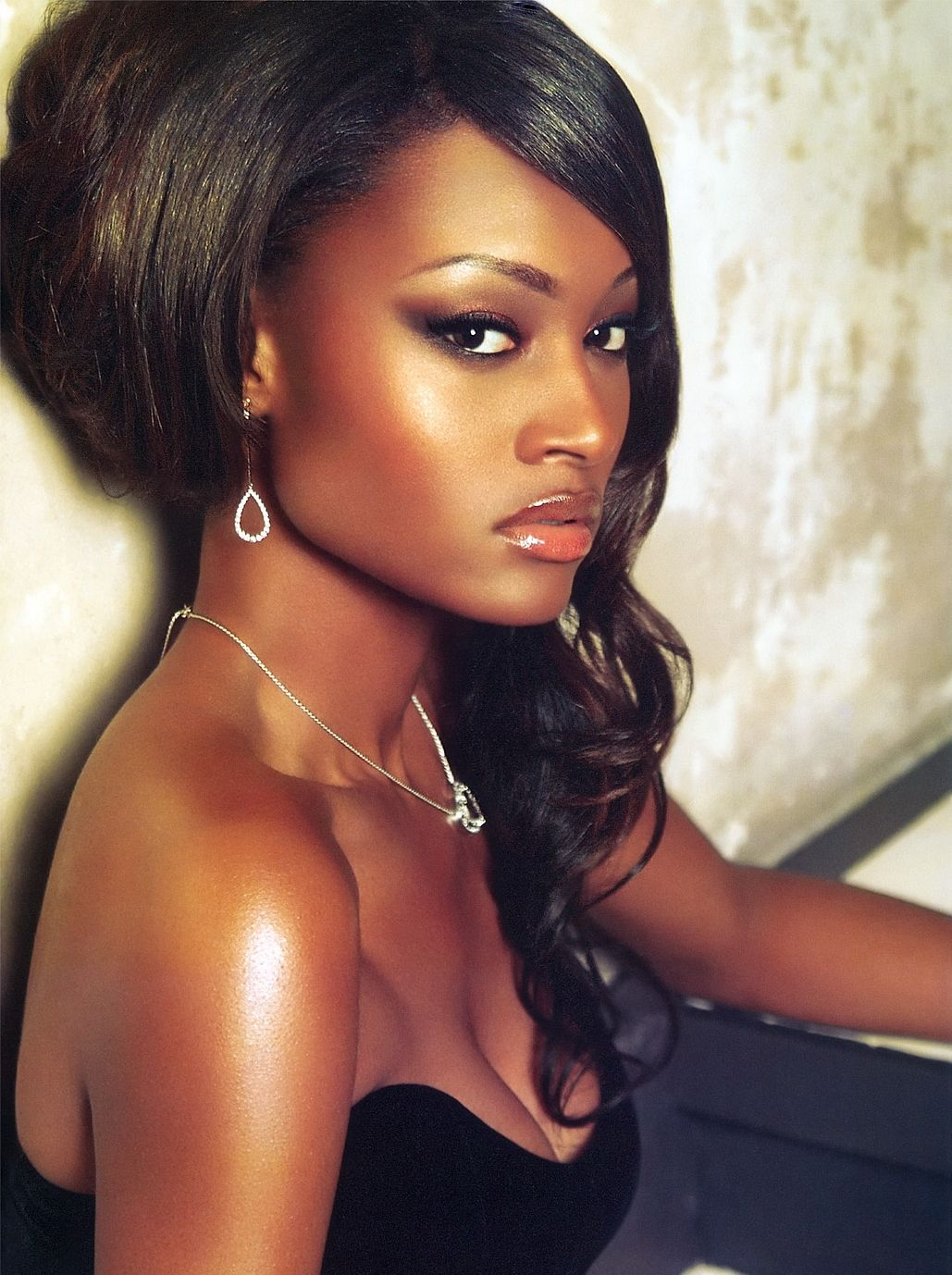 Danielle Evans ANTM winner. She should really be a top model. This girl is gorgeous