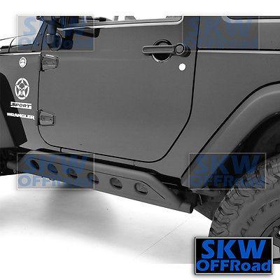 Details About 2 Door Rock Crawler Side Body Slider Armor Rocker