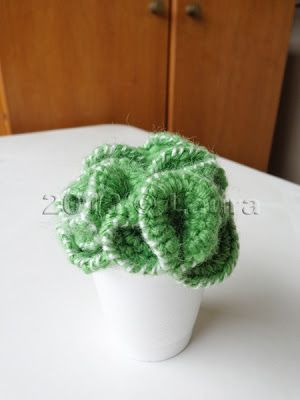 Laura ago: Cactus and bouquet amigurumi