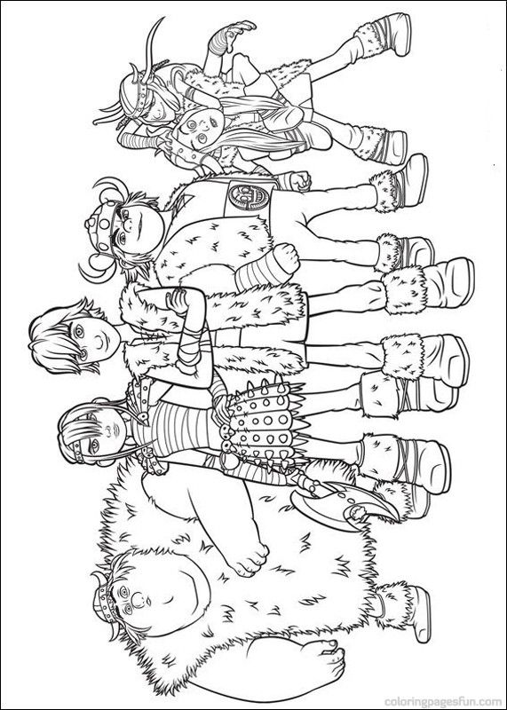 How To Train Your Dragon Coloring Pages 17 Dragon Coloring Page