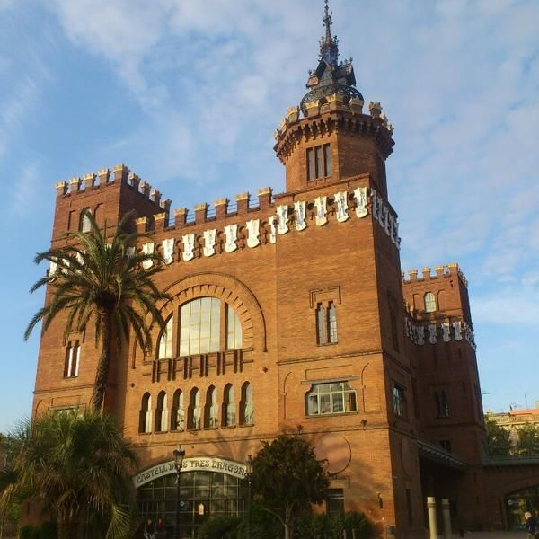 """""""The Castle of the Three Dragons"""" is the popular name of this building of Lluís Domènech i Montaner built in 1887-88. Now is the zoologic museum."""