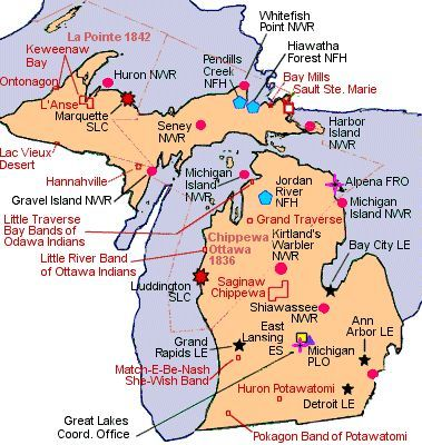 Michigan Native American Tribes Of Historical interest