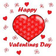 Schön Valentine Heart Clip Art | Valentine Clipart Flower Heart Happy Valentines