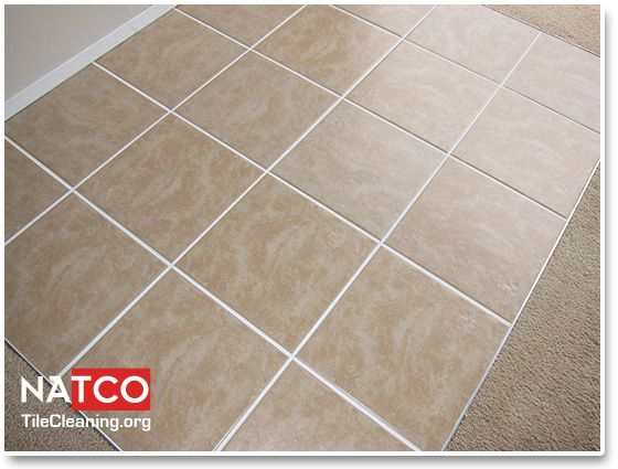 how to clean a ceramic tile floor and
