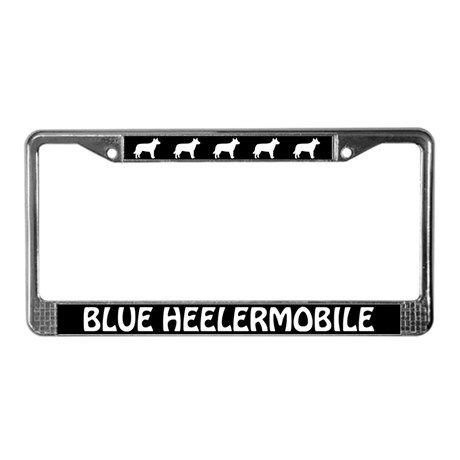 Aussie Cattle Dog (Blue Heeler) LicensePlate Frame by