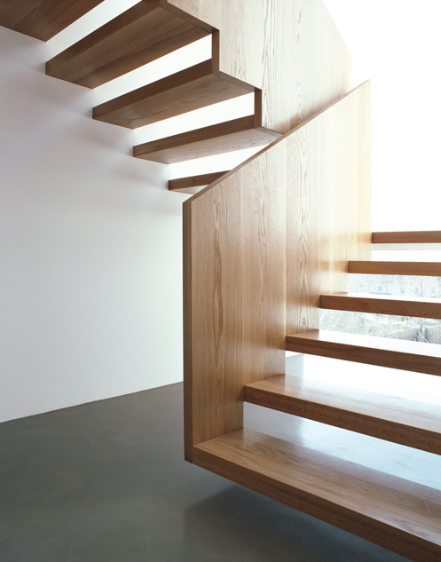 Pynter_OpenTreadStairs. Open StaircaseFloating ...