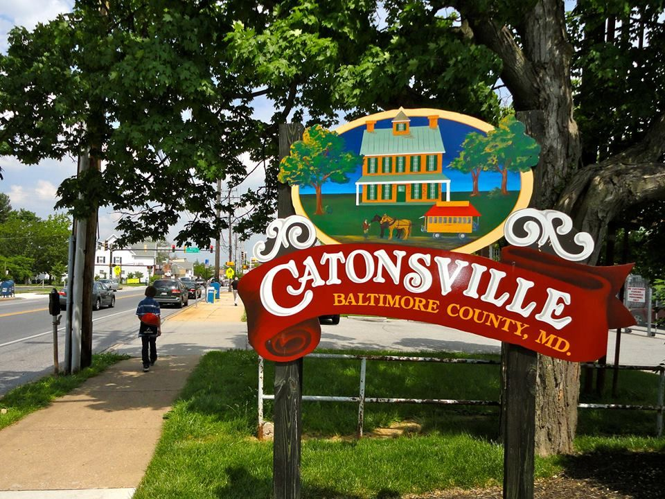 Catonsville Md Picture From The Catonsville Patch Fb Page Taken At The Sign Next To The Post Office On Frederick Road Catonsville Baltimore County Maryland