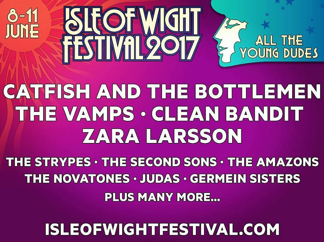 More acts join the Isle of Wight festival 2017 line up!