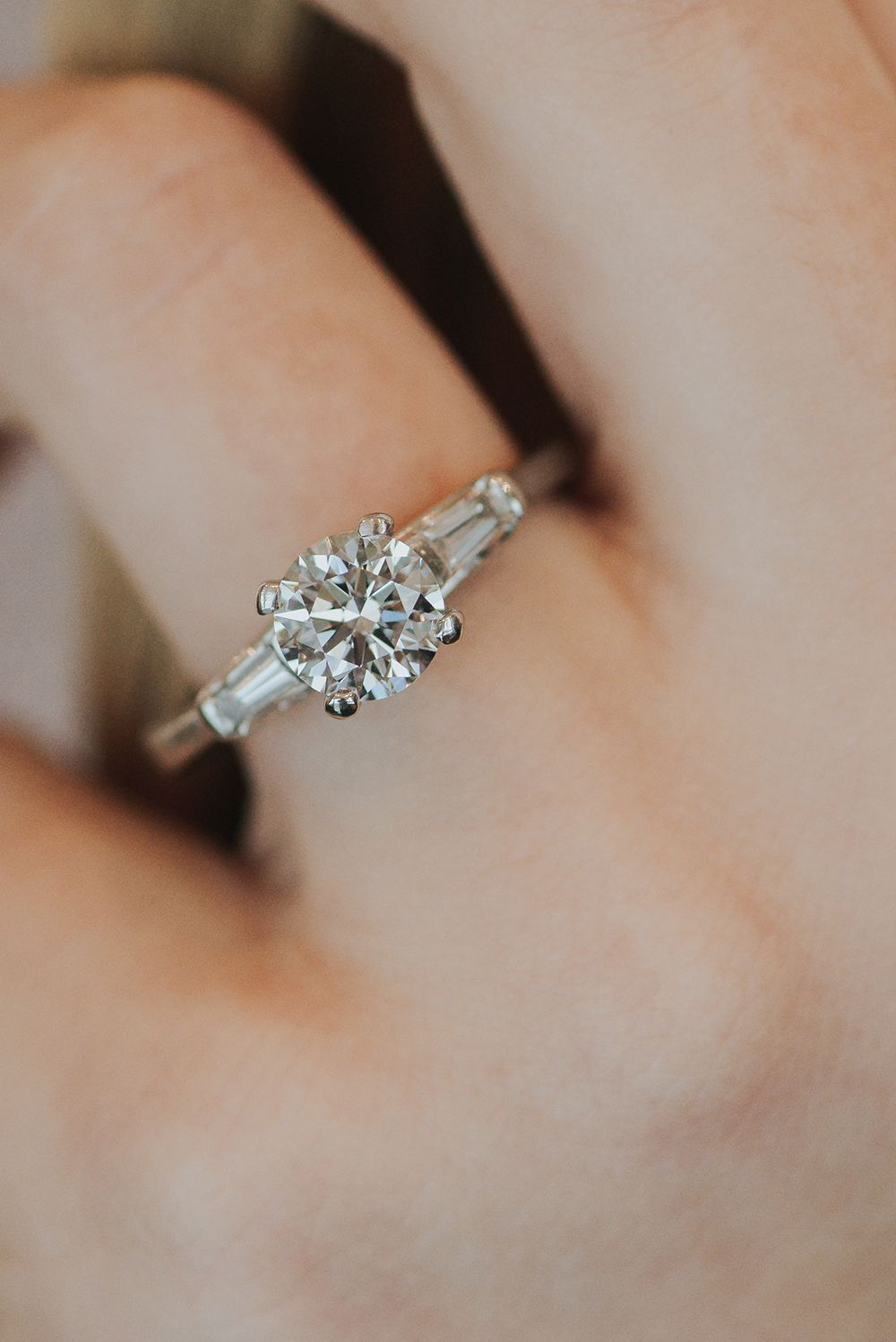 Ecofriendly Engagement Rings with Arctic Ice Diamonds