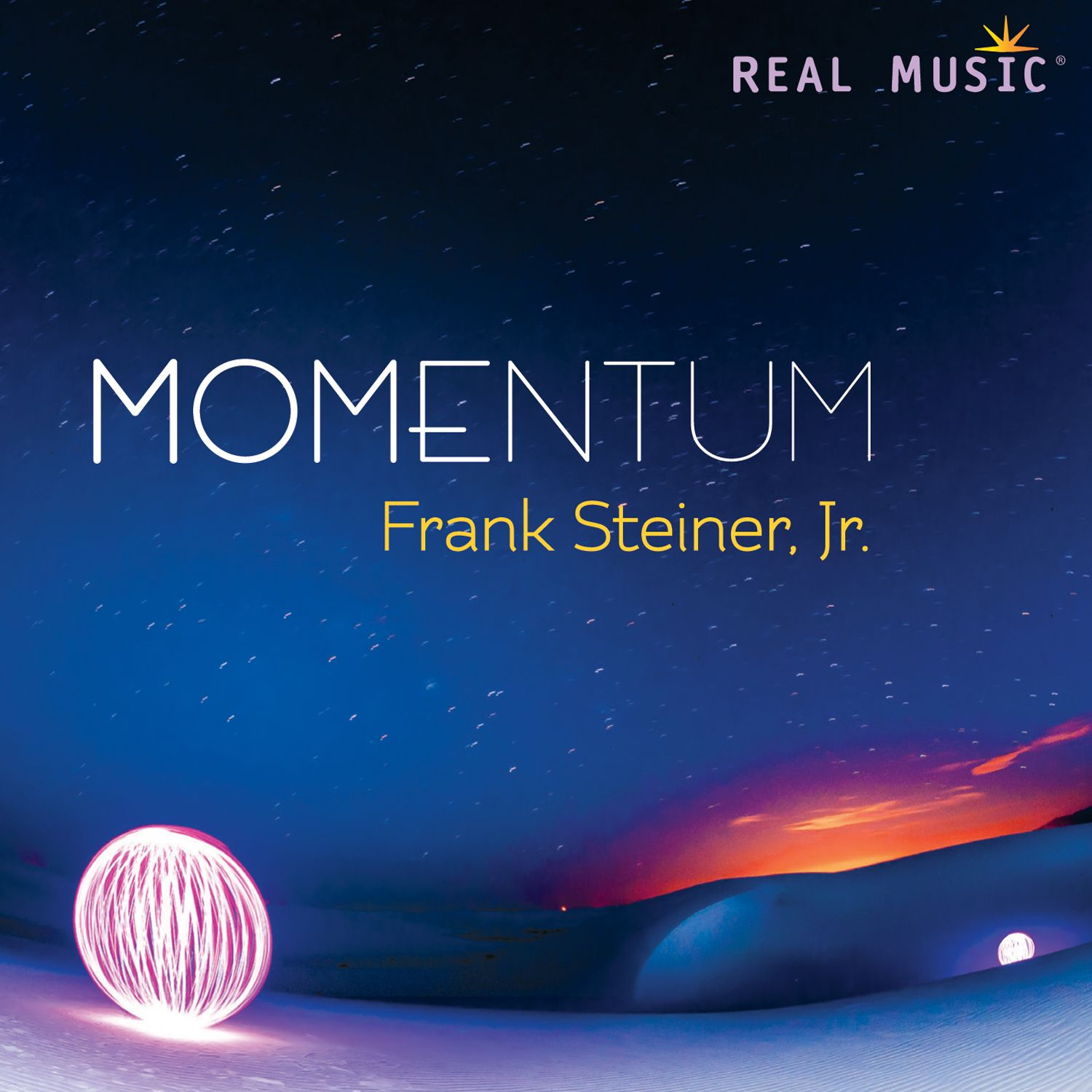 Exotically shamanic, softly jazzy, rhythmically expressive — all given voice by this master of global musical genres. With some pieces solo piano, some lightly orchestrated, others gently tribal with accompanying world percussion, Steiner has created a work capturing the power of movement.   www.realmusic.com