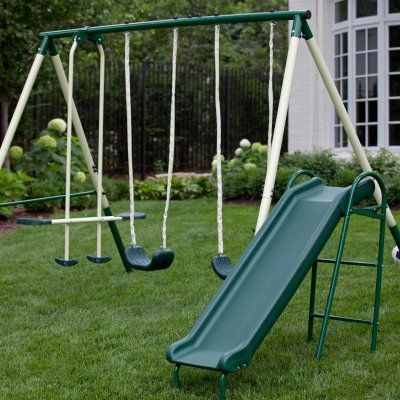 Saving Money On Backyard Swing Sets And Play Equipment   Blissfully Domestic