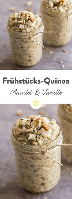 Photo of Almond and vanilla quinoa