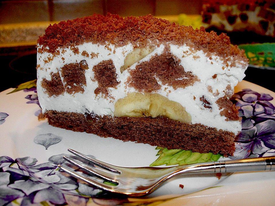 Weiwels Affentorte Rezept Kuchen Und Torten Susse Backerei Lebensmittel Essen