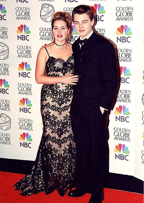 "Kate Winslet Post-Titanic: Leonardo DiCaprio's ""Fatter,"" I'm ""Thinner"" |  Kate winslet and leonardo, Leonardo dicaprio kate winslet, Leonardo dicaprio"