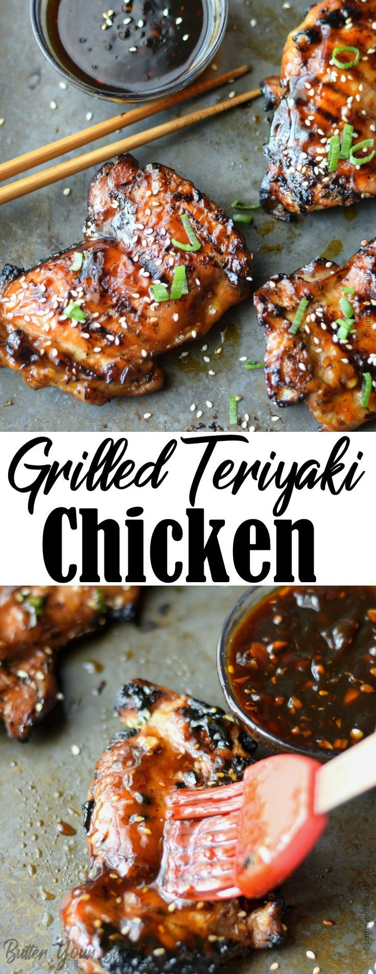 Grilled Teriyaki Chicken Recipe Butter Your Biscuit ...