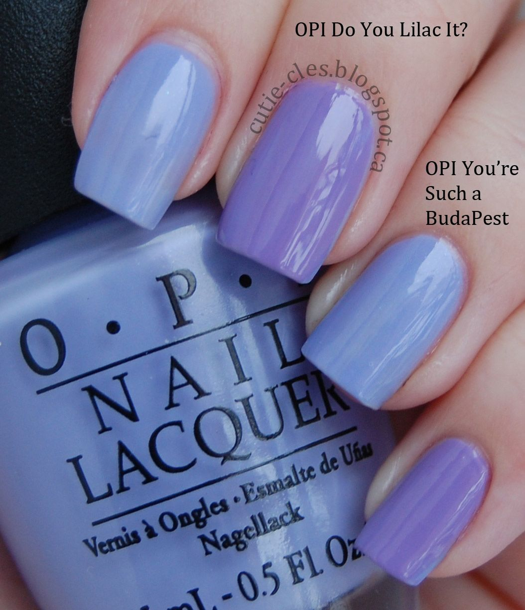 OPI do you lilac it vs...