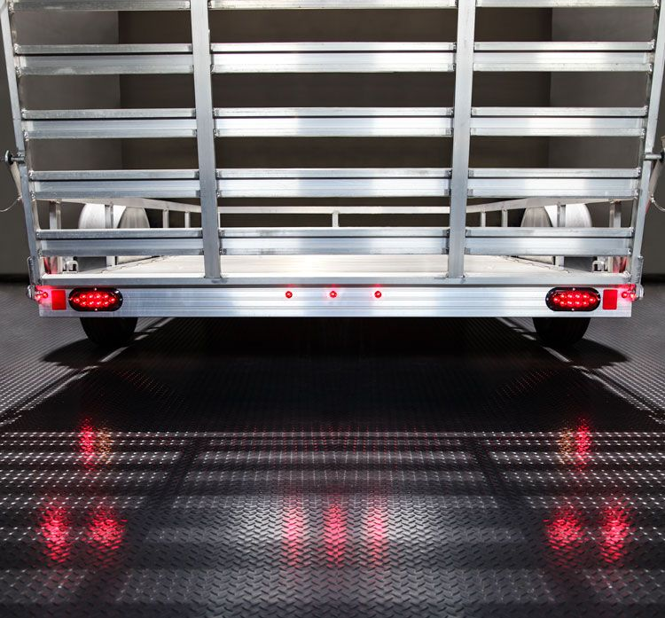 Round Led Truck And Trailer Lights With Grommet 3 4 Pc Rated Led Side Clearance Light Bullet Connector Flush Mount 3 Leds Truck And Trailer Lights Trucks