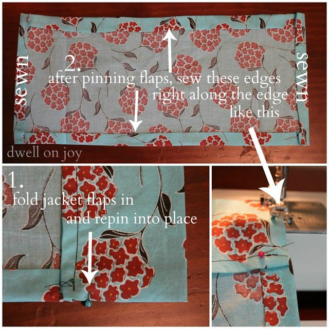 Diy Guest Book Cover : Fabric book cover diy guest post covers