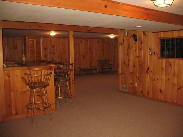 Knotty Pine? Yup! Built in bar? Yup! FOR SALE? YUP!!! This is the ...