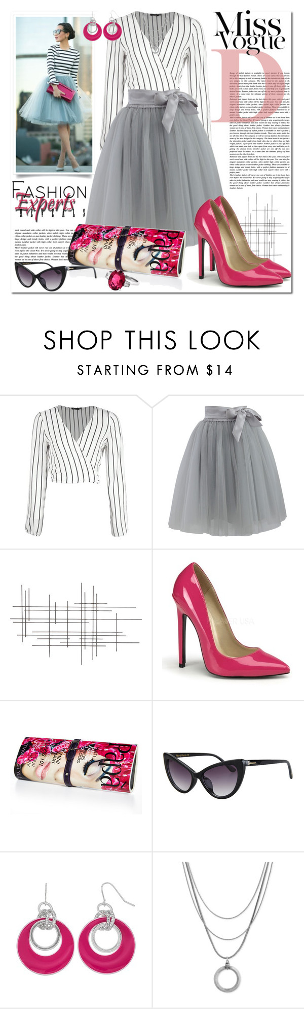 """""""#TRENDYSKIRT: Fashion Experts Reveals Tulle Styles"""" by msmith801 ❤ liked on Polyvore featuring Boohoo, Chicwish, Crate and Barrel, Papà Razzi and Lucky Brand"""