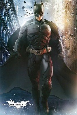 Details About The Dark Knight Rises Poster Batman 1 Rare Hot New