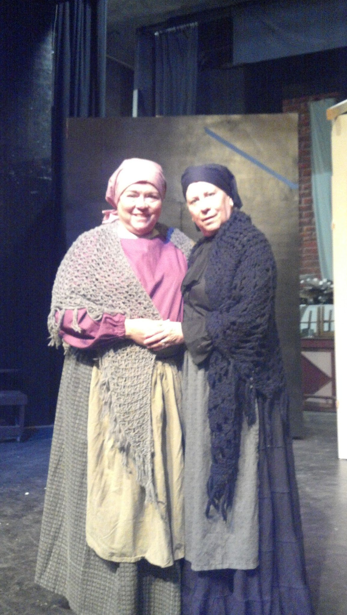 Golde And Yente Fiddler On The Roof Young Frankenstein