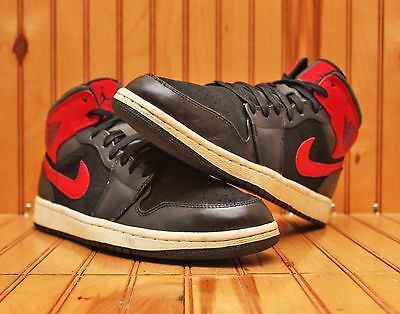 best loved 04fda 44b30 2013 Nike Air Jordan 1 Retro XC Size 9.5 - Black Red White Bred - 554724 024