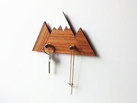 Little mountain wall hook, jewelry hook, keychain hooks, key hooks ...