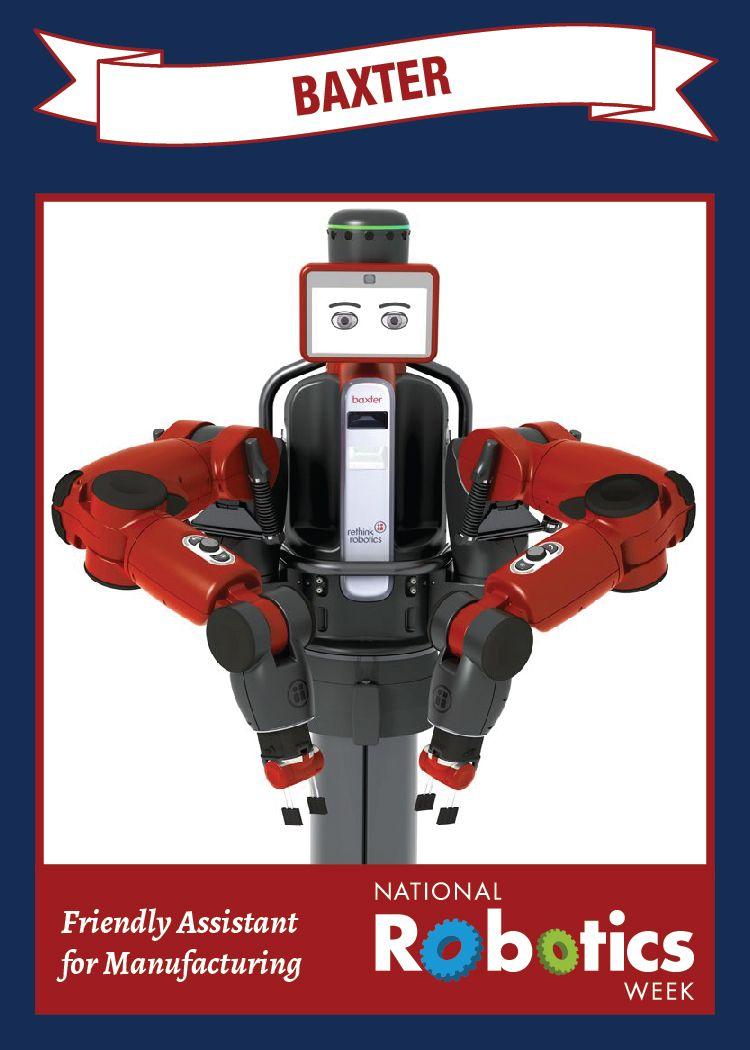 Robot Trading Cards National Robotics Week 2015
