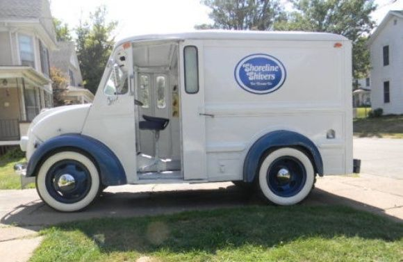 Restored 1957 Divco Ice Cream Truck Trucks For Sale Ice Cream Truck Trucks