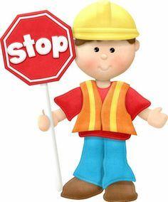 Construction Worker Digi Scrap Clip Art Free Clip Art